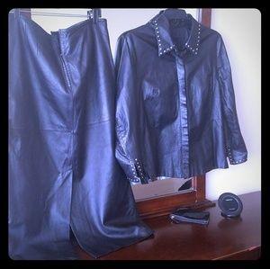 Authentic Leather suit